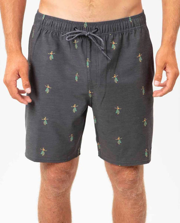 RIP CURL SHORT LUAU VOLLEY - HOMME