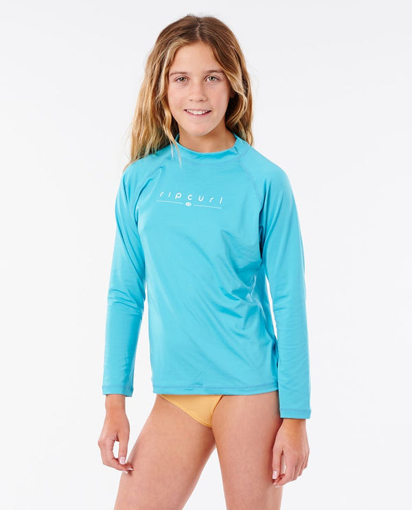 RIP CURL CHANDAIL GIRLS GOLDEN RAYS L/SL - ENFANT