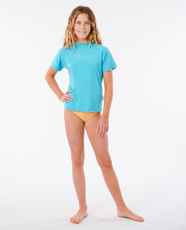 RIP CURL T-SHIRT GIRLS GOLDEN RAYS L/SL - ENFANT