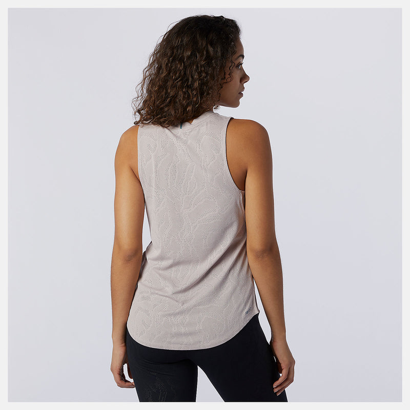 NEW BALANCE CAMISOLE Q SPEED FUEL JACQUARD - FEMME