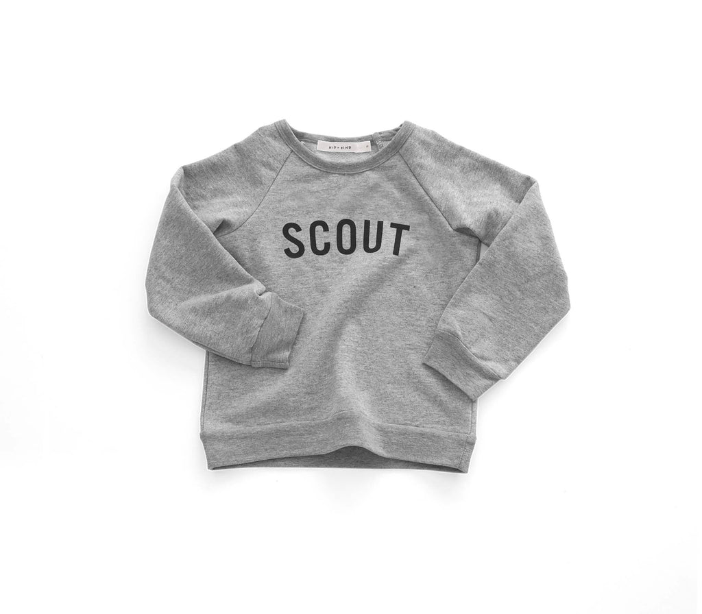 'SCOUT' BASIC SWEATSHIRT