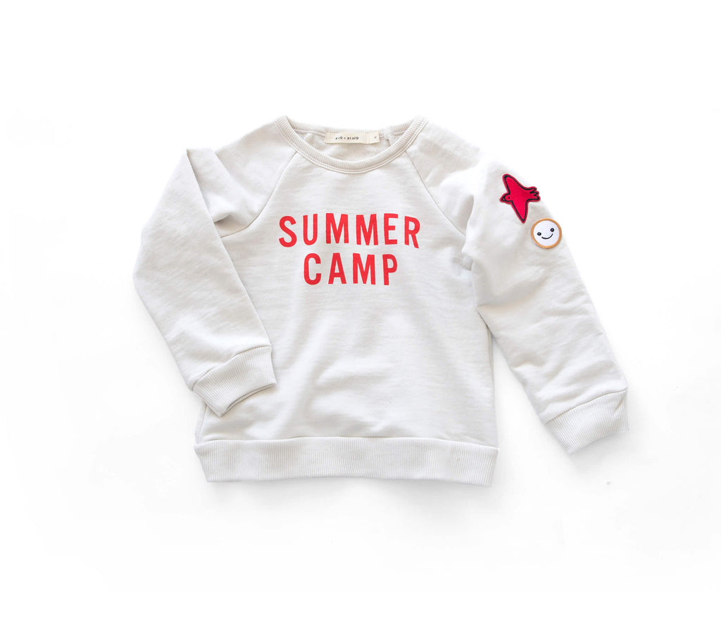 'SUMMER CAMP' BASIC SWEATSHIRT