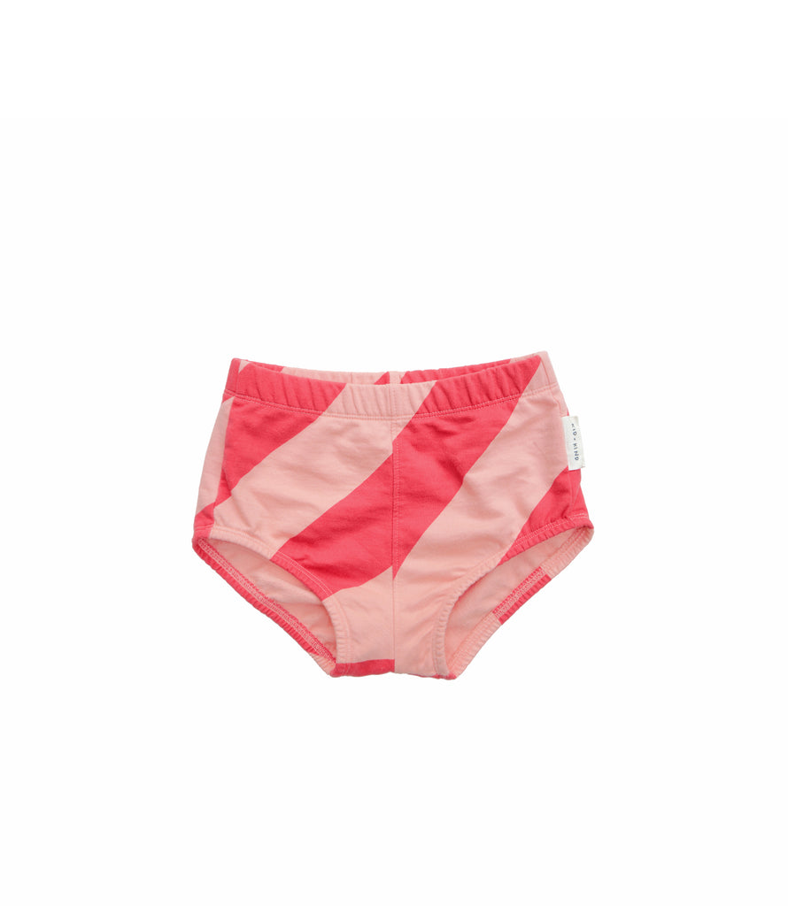 CANDY STRIPE HIGH-WAISTED SHORT / BLOOMER