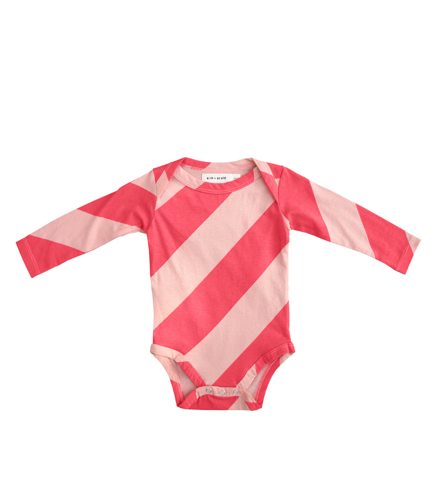 CANDY STRIPE ONESIE