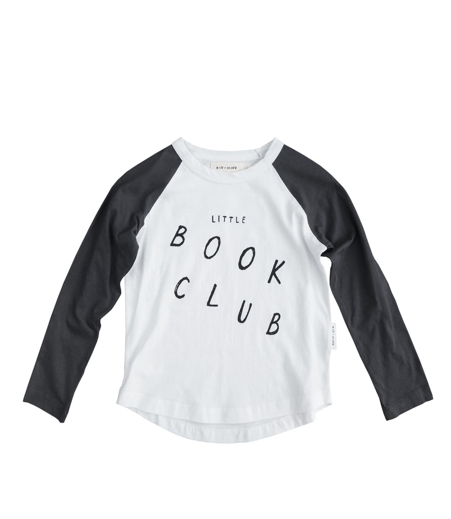BOOK CLUB RAGLAN T-SHIRT
