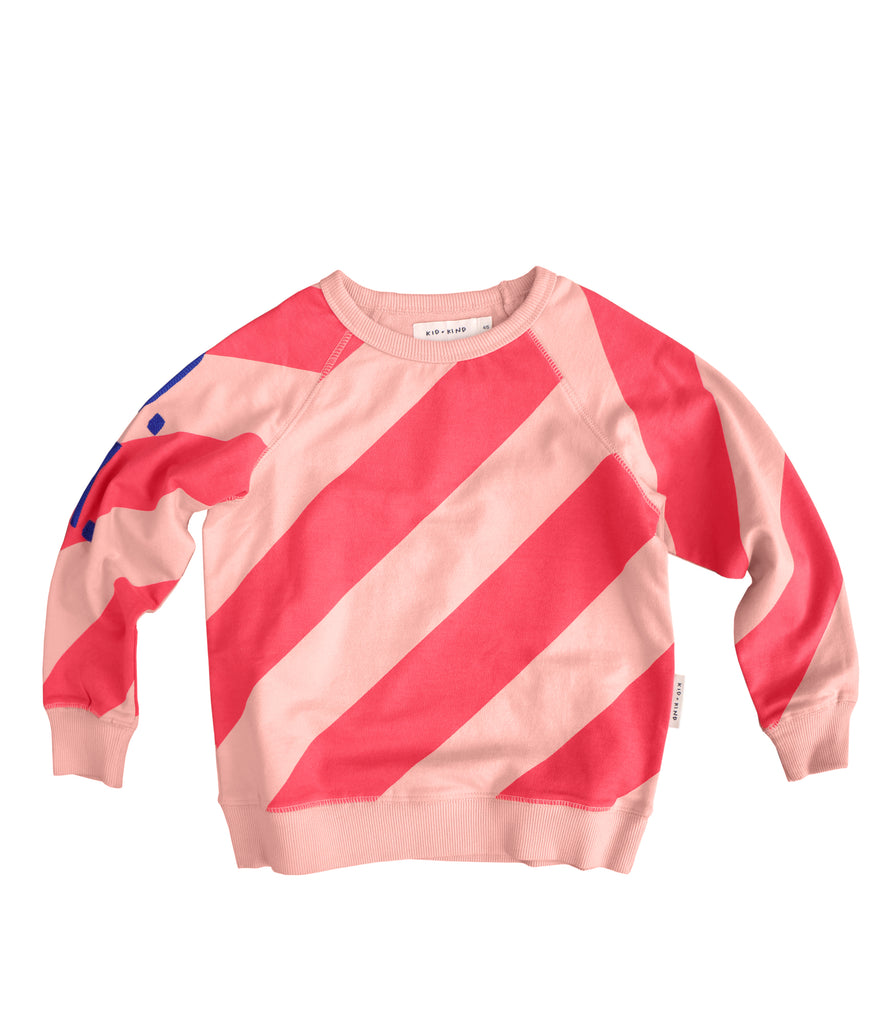 CANDY STRIPE PULLOVER