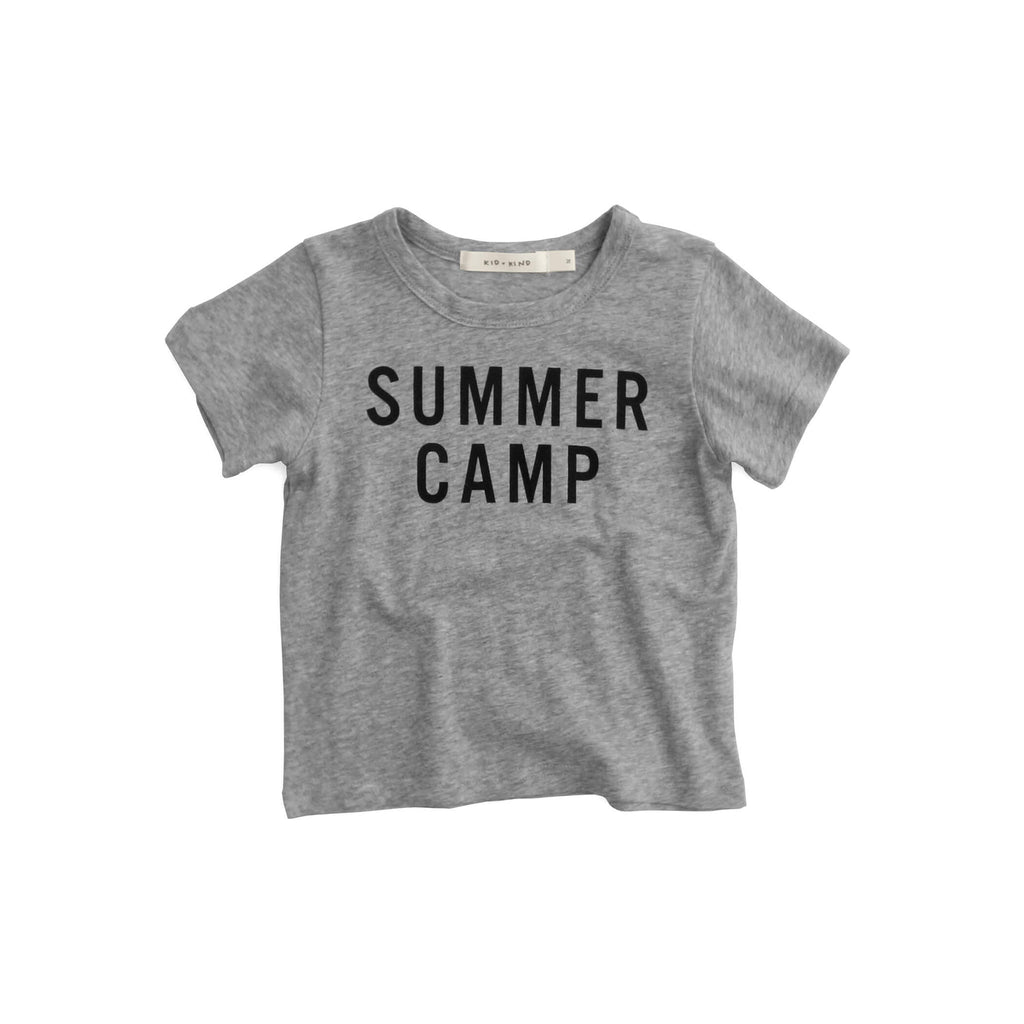 'SUMMER CAMP' T-SHIRT
