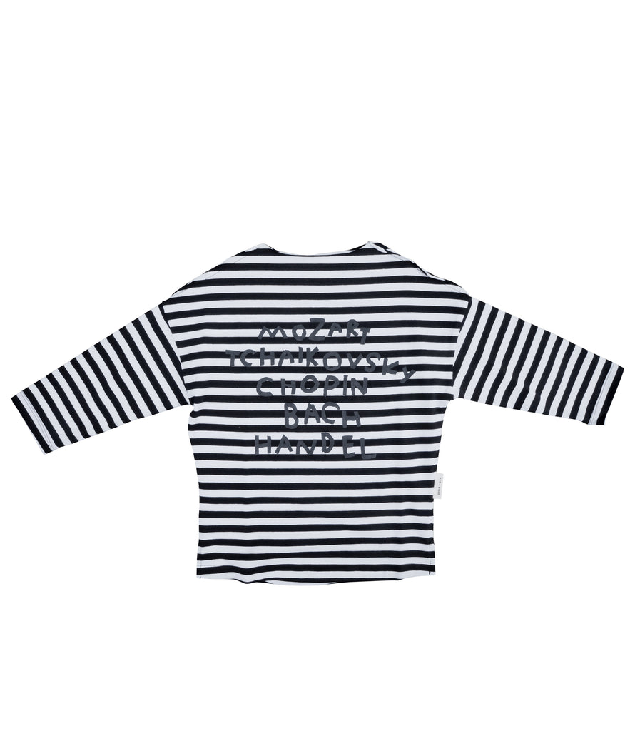 COMPOSERS STRIPED TUNIC