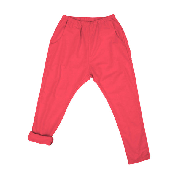 WOMEN'S WOVEN PANT (RED)