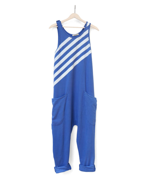 'UNIFORM STRIPE' WOMEN'S TANK ROMPER