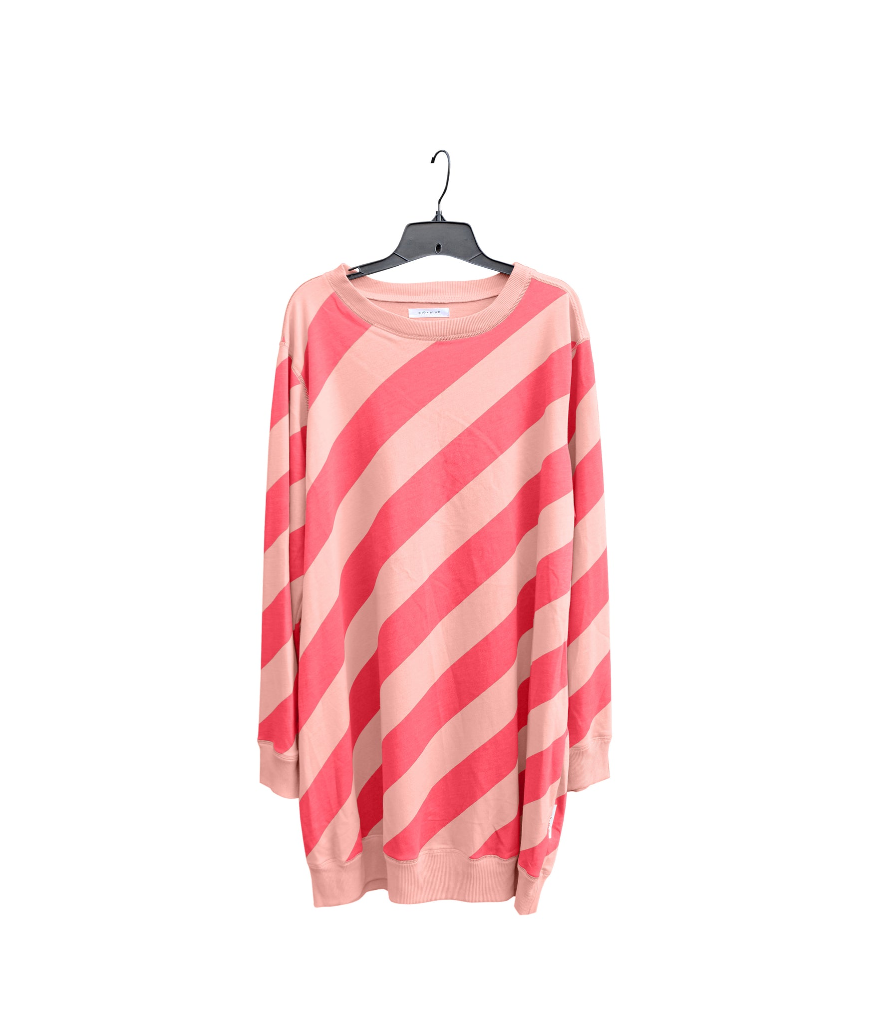 WOMEN'S CANDY STRIPE PULLOVER DRESS