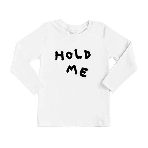 'HOLD ME' LONG-SLEEVE T-SHIRT