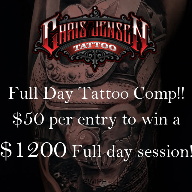 Full day Tattoo Session competition!!!!