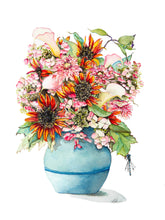 Load image into Gallery viewer, Flower Bouquet Print