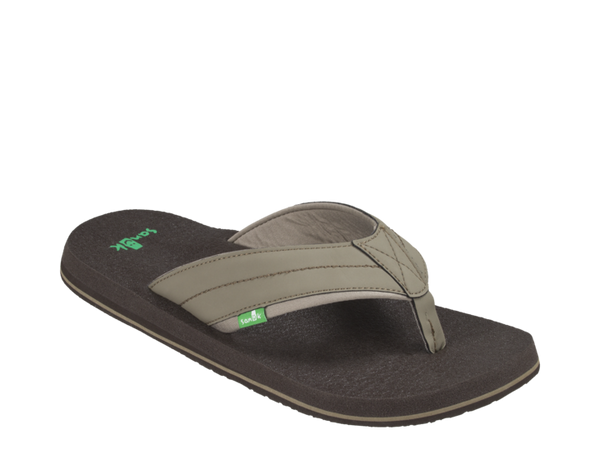SANUK MENS BEER COZY BRINDLE SANDAL