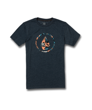 VOLCOM YOUTH BOYS INFILLION NAVY TSHIRT