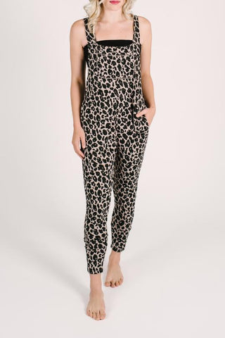 SMASH + TESS LADIES LEXI LEOPARD ROMPERALLS