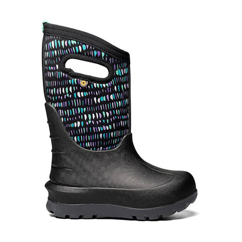 BOGS YOUTH NEO-CLASSIC TWINKLE BLACK WINTER BOOT