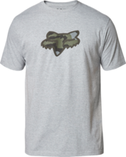 FOX MENS PREDATOR SS LIGHT HEATHER GREY TSHIRT