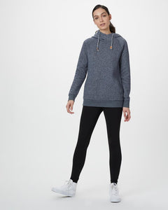 TEN TREE LADIES BURNEY DARK OCEAN BLUE HOODIE