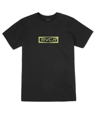 RVCA YOUTH BOUNDARY BLACK TSHIRT