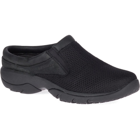 MERRELL MENS ENCORE REXTON SLIDE BLACK SHOE