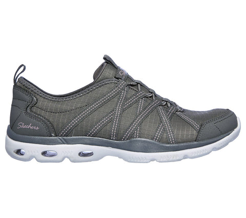 SKECHERS LADIES BE-YOND CHARCOAL SHOE