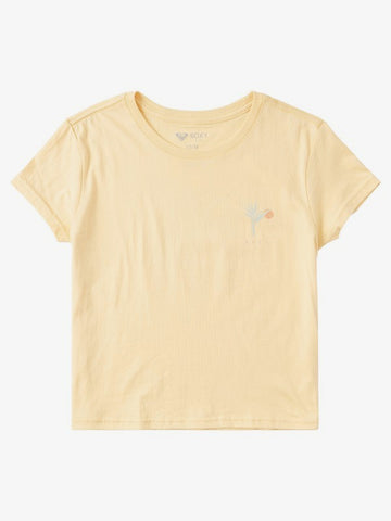 ROXY LADIES LADY BIRD BOYFRIEND CREW SAHARA SUN TSHIRT