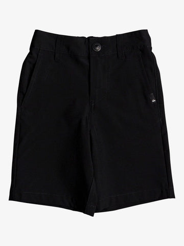 "QUIKSILVER TODDLER UNION AMPIBIAN 14"" BLACK BOARDSHORT"