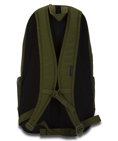 HURLEY RENGED 11 SOLID GREEN BACKPACK