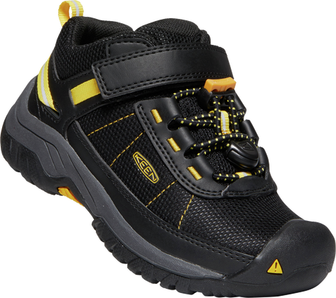 KEEN YOUTH TARGHEE SPORT BLACK/KEEN YELLOW SHOE