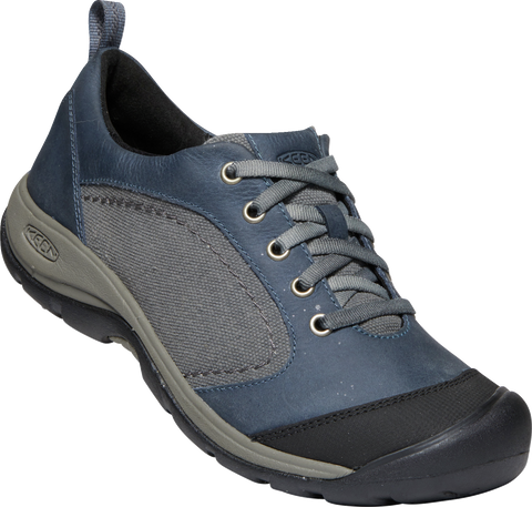 KEEN LADIES PRESIDIO II CASUAL FLINT STONE/STEEL GREY SHOE