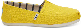 TOMS LADIES DANDELION HERITAGE CANVAS SHOE