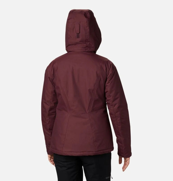COLUMBIA LADIES LAST TRACKS INSULATED MALBEC WINTER JACKET