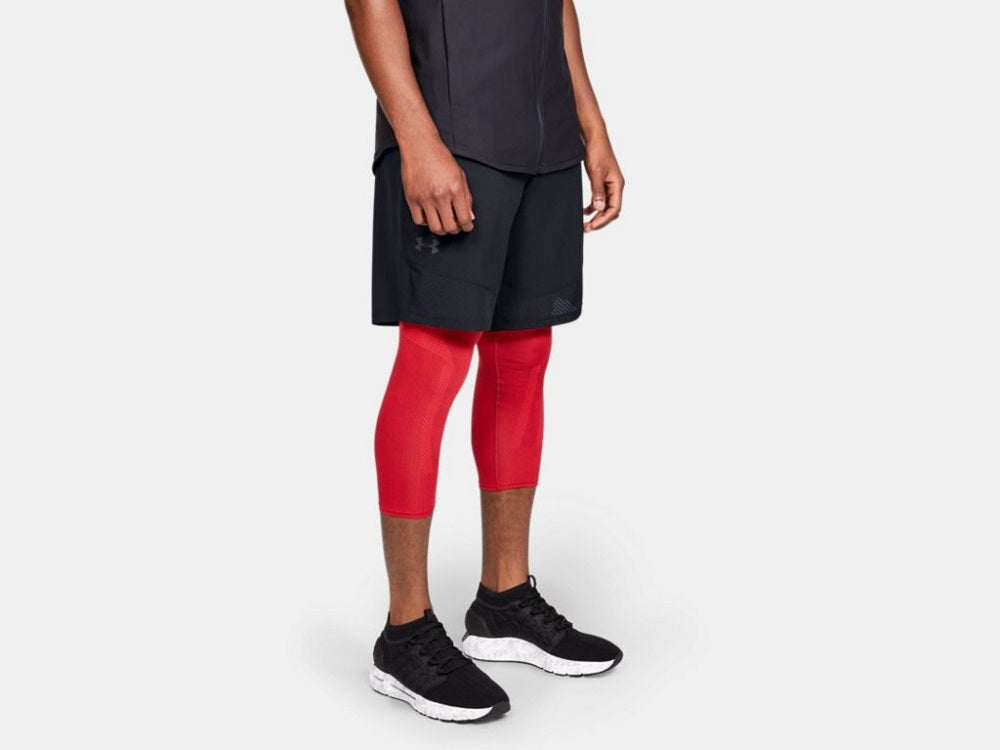 UNDER ARMOUR MENS VANISH WOVEN BLACK SHORTS