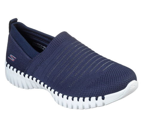 SKECHERS LADIES GO WALK SMART NAVY/WHITE SHOE