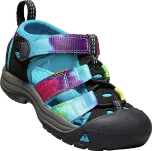 KEEN YOUTH NEWPORT H2 RAINBOW TIE DYE SANDAL