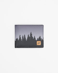 TEN TREE BARON BI-FOLD METEORITE BLACK JUNIPER WALLET
