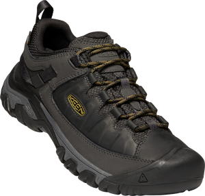 KEEN MENS TARGHEE III WP BLACK/OLIVE DRAB SHOE