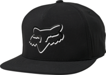 FOX MENS SHADED SNAPBACK BLACK HAT