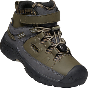 KEEN YOUTH TARGHEE MID WP BUNGEE CORD/DARK OLIVE SHOE
