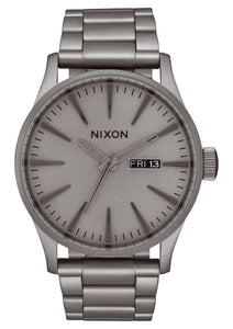 NIXON SENTRY SS DARK STEEL WATCH