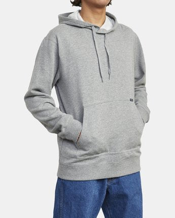 RVCA MENS AMERICANA ATHLETIC HEATHER HOODIE
