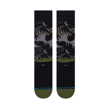 STANCE MENS INFIKNIT LIFE CHECKIN OUT GREY SOCKS
