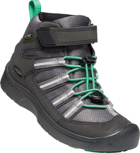 KEEN YOUTH HIKEPORT 2 SPORT MID WP BLACK/IRISH GREEN SHOE
