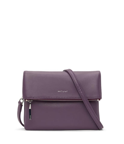 MATT & NAT LADIES HILEY LOOM MULBERRY HANDBAG