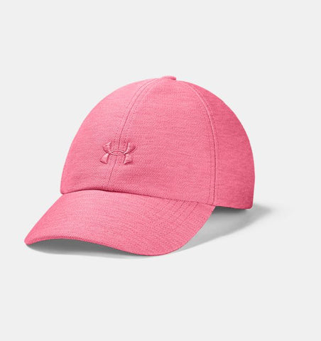 UNDER ARMOUR LADIES HEATHERED PLAY UP PINK LEMONADE HAT