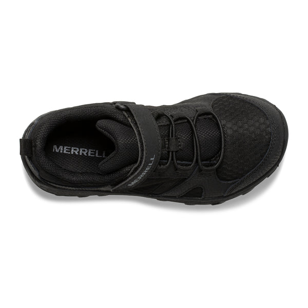 MERRELL YOUTH OUTBACK LOW BLACK/BLACK SHOE