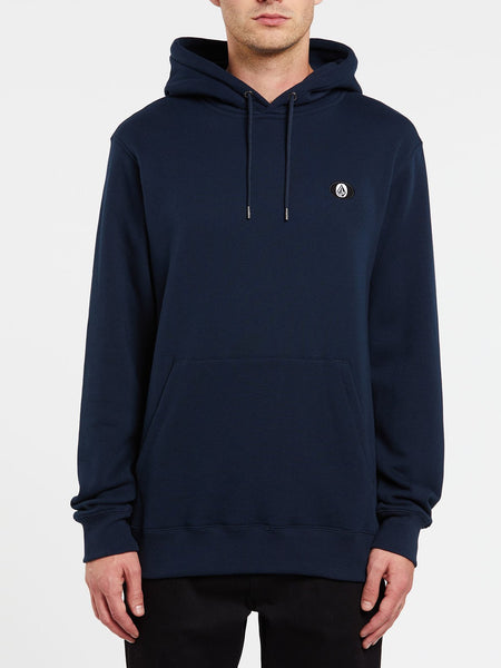 VOLCOM MENS SINGLE STONE NAVY HOODIE