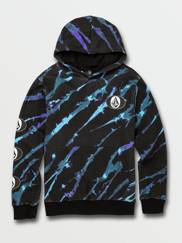 VOLCOM YOUTH STONE STACK MULTI HOODIE